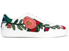 Ace embroidered sneaker- Gucci