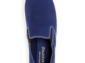 Cole Haan Color-Block Leather Slip-On Sneakers